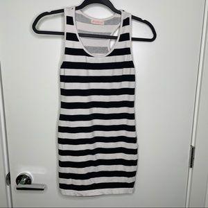 🎁4/20$🎁 spandex striped mini dress